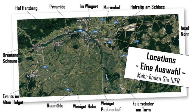 Locations Mainz Alzey Wiesbaden